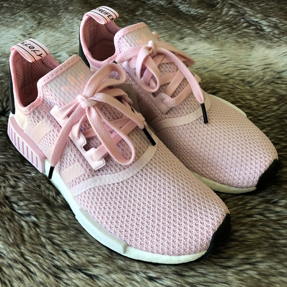 19f4eb3b34bb5 Adidas NMD R1 Women s Shoes Pink